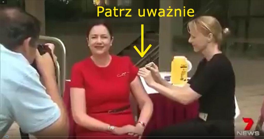 Jak szczepią się rządzący