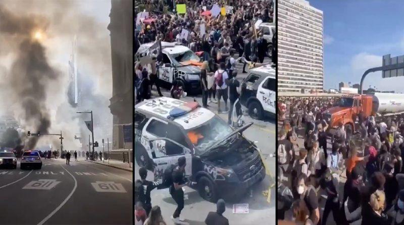 Szaleństwo na ulicach USA – próba obalenia Trumpa