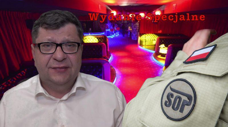Pijany funkcjonariusz SOP z ochrony Morawieckiego mierzy z broni do ludzi w Rzeszowie