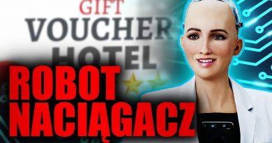 UWAGA! Robot udaje człowieka i naciąga polaków