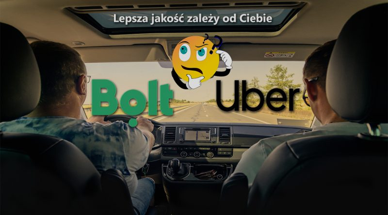 Uber   Bolt – kierowca vs. pasażer – dlaczego nie powinieneś bać się wystawiać niskich ocen