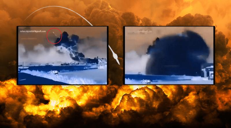 Bejrut (Liban) – nagranie wybuchu w podczerwieni i pocisk!
