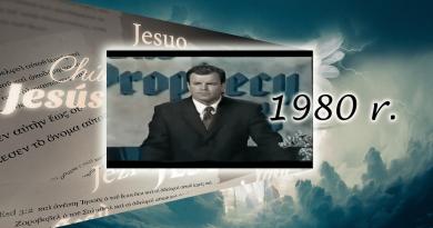 Widziałem wielki ucisk. Proroctwo z 1980 roku BLISKIE WYPEŁNIENIA SIĘ