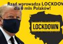 trump koronawirus lockdown polska