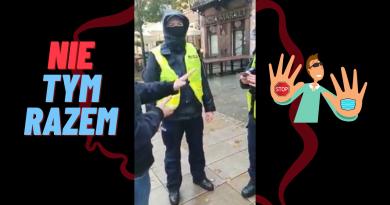 SZACH MAT dla Policji prosto z ulicy - maski!