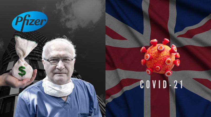 Prof. SIMON brał pieniądze od koncernu Pfizer! COVID-21 w Anglii?