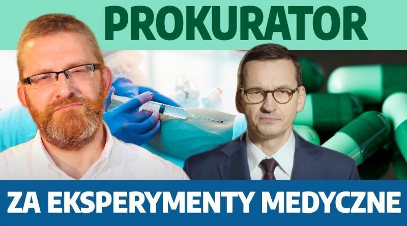 Grzegorz Braun DONOSI do prokuratury na Morawieckiego!