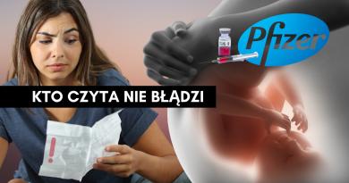 ULOTKA szczepionki COVID-19 - OSTRZEŻENIE - bezpłodność - Dr Sienkiewicz!