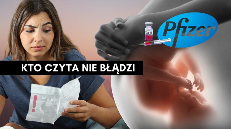ULOTKA szczepionki COVID-19 – OSTRZEŻENIE – bezpłodność – Dr Sienkiewicz!