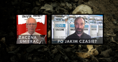 Po jakim czasie zaszczepieni zaczną masowo umierać - Jerzy Zięba?