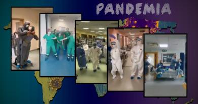 Śmiertelna pandemia zabójczego koronawirusa. Tańce lekarzy!