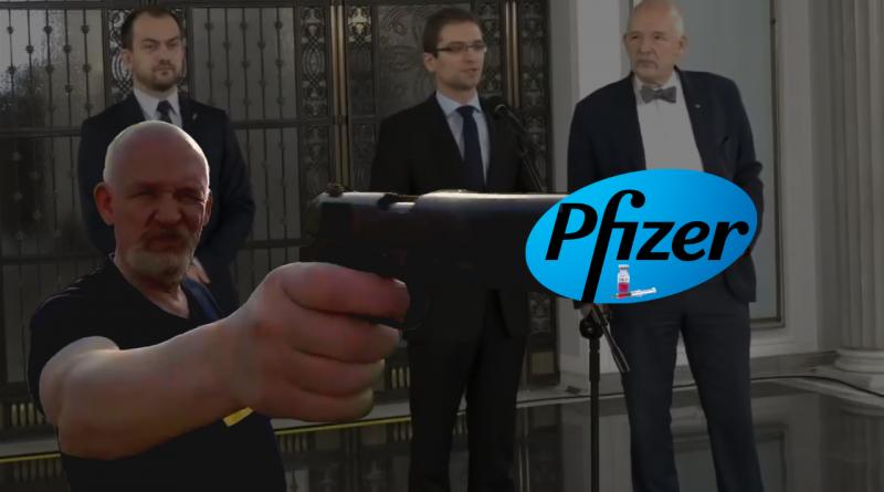 Konfederacja o PiS-ie i zorganizowanej grupie przestępczej spod znaku Pfizera!