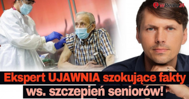 Ekspert UJAWNIA szokujące fakty ws. szczepień seniorów, zgonów i LOCKDOWNU w Polsce!
