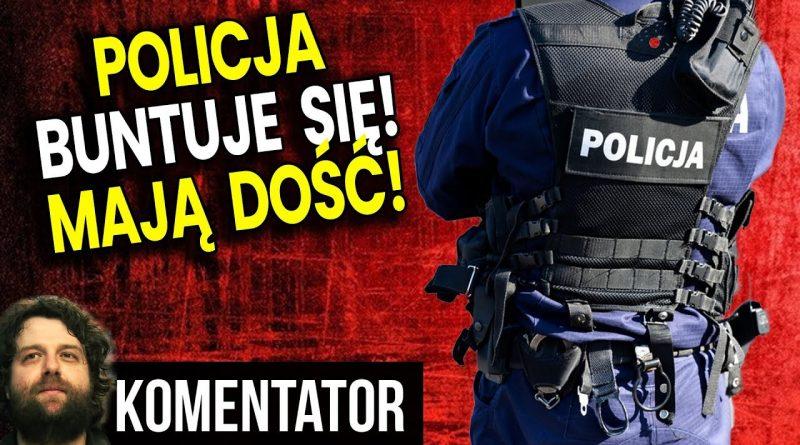 Policja buntuje się! Mają dość obstawiania protestów!