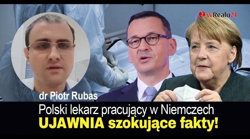 Polski lekarz pracujący w Niemczech UJAWNIA szokujące fakty ws. pandemii!