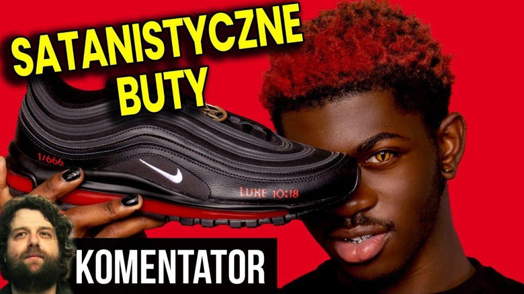 Satanistyczne Buty Nike z KRWIĄ