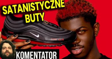 Satanistyczne Buty Nike z KRWIĄ od Lil Nas X - Zło Staje się MODNE i Pozwala Zarobić Pieniądze!
