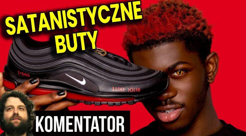 Satanistyczne Buty Nike z KRWIĄ od Lil Nas X – Zło Staje się MODNE i Pozwala Zarobić Pieniądze!