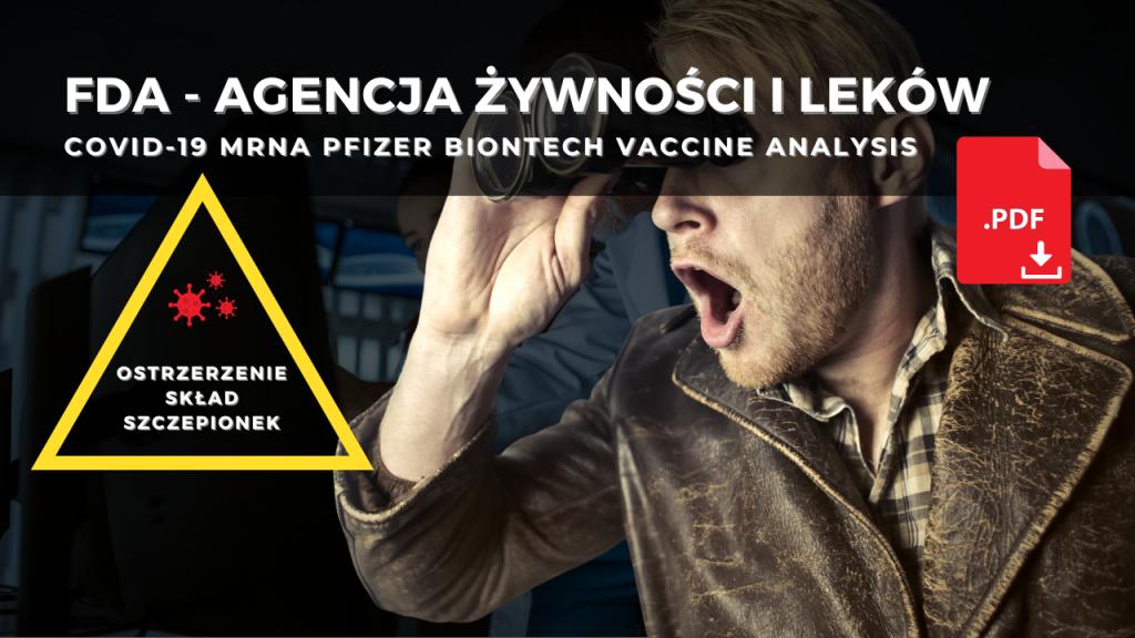 Analiza składu szczepionki Covid-19